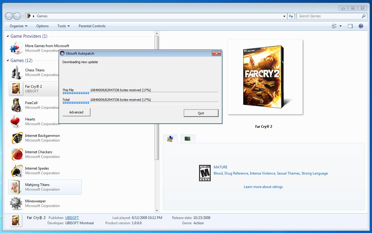 Test: Spielen unter Windows 7 -