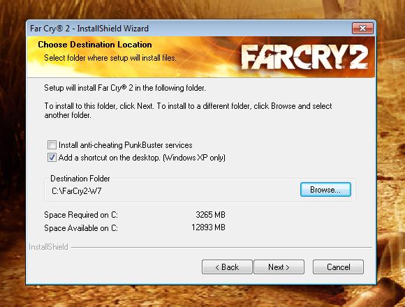 Test: Spielen unter Windows 7 - Ein Desktop-Icon gibt es nur bei Windows XP automatisch.