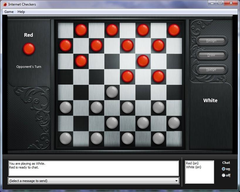 Test: Spielen unter Windows 7 - Dame per Internet