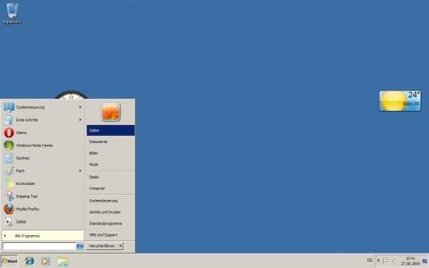 Windows 7 - klassische Darstellung