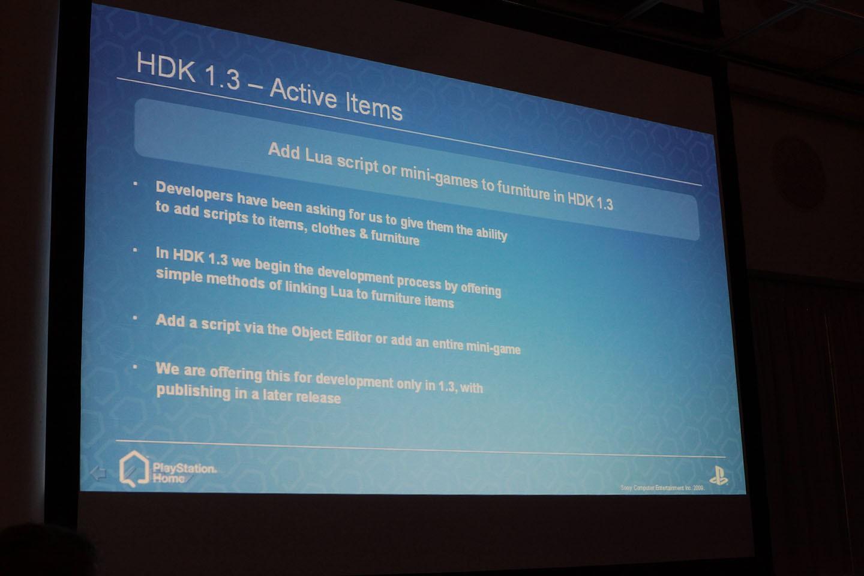 Playstation Home wird verbessert - Playstation Home - HDK 1.3 und Active Items