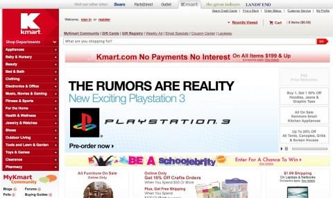 Kmart startet PS3-Slim-Vorbestellung