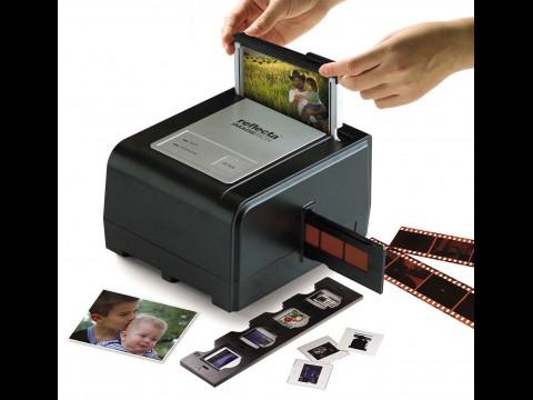 Reflecta Imagebox - scannt Dias, Negative und Papierfotos