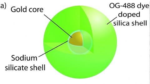 Schematische Darstellung des Spasers (Bild: Purdue Universität)