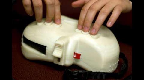 Braille-Labeler 6dot (Prototyp)