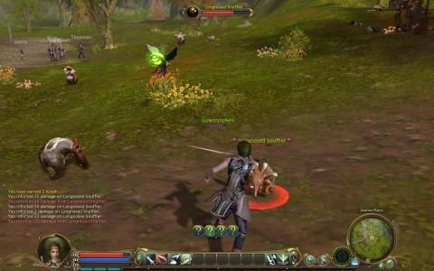 Aion - erste Kämpfe im Startgebiet