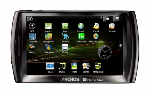 Archos 5 Internet Tablet mit Android
