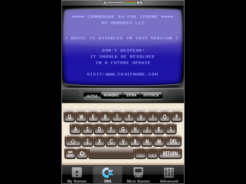 Commodore-64-iPhone-Emulator