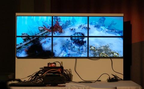Battleforge auf sechs Monitoren