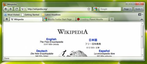 Entwurf für Firefox 3.7