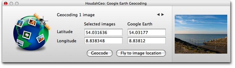 Geocodierung mit Blickrichtungsangabe - GPHoudahGeo - Geocodierung