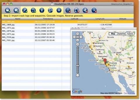 GPHoudahGeo - Zusammenführung von GPS- und Bilddaten