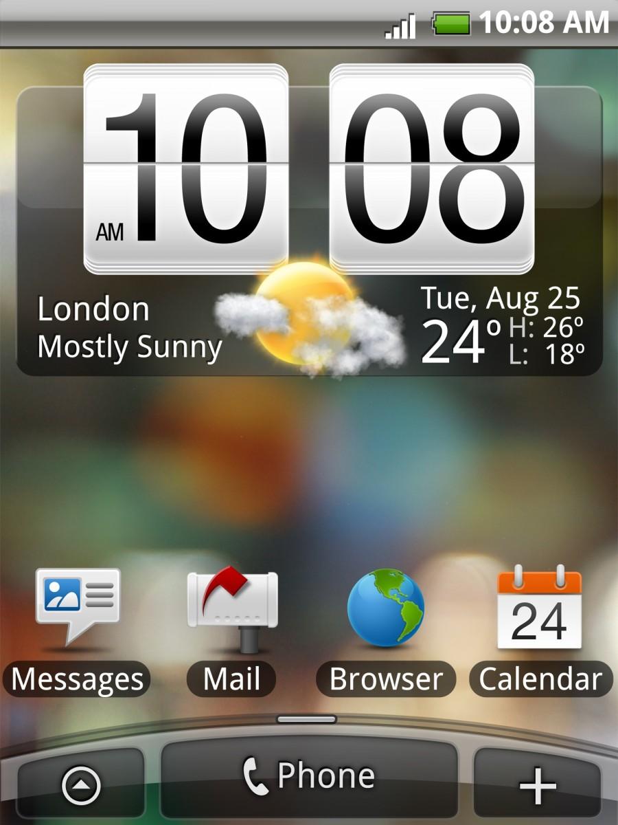 HTC Tattoo - Einsteiger-Smartphone mit Android und Sense - HTC Tattoo mit Sense
