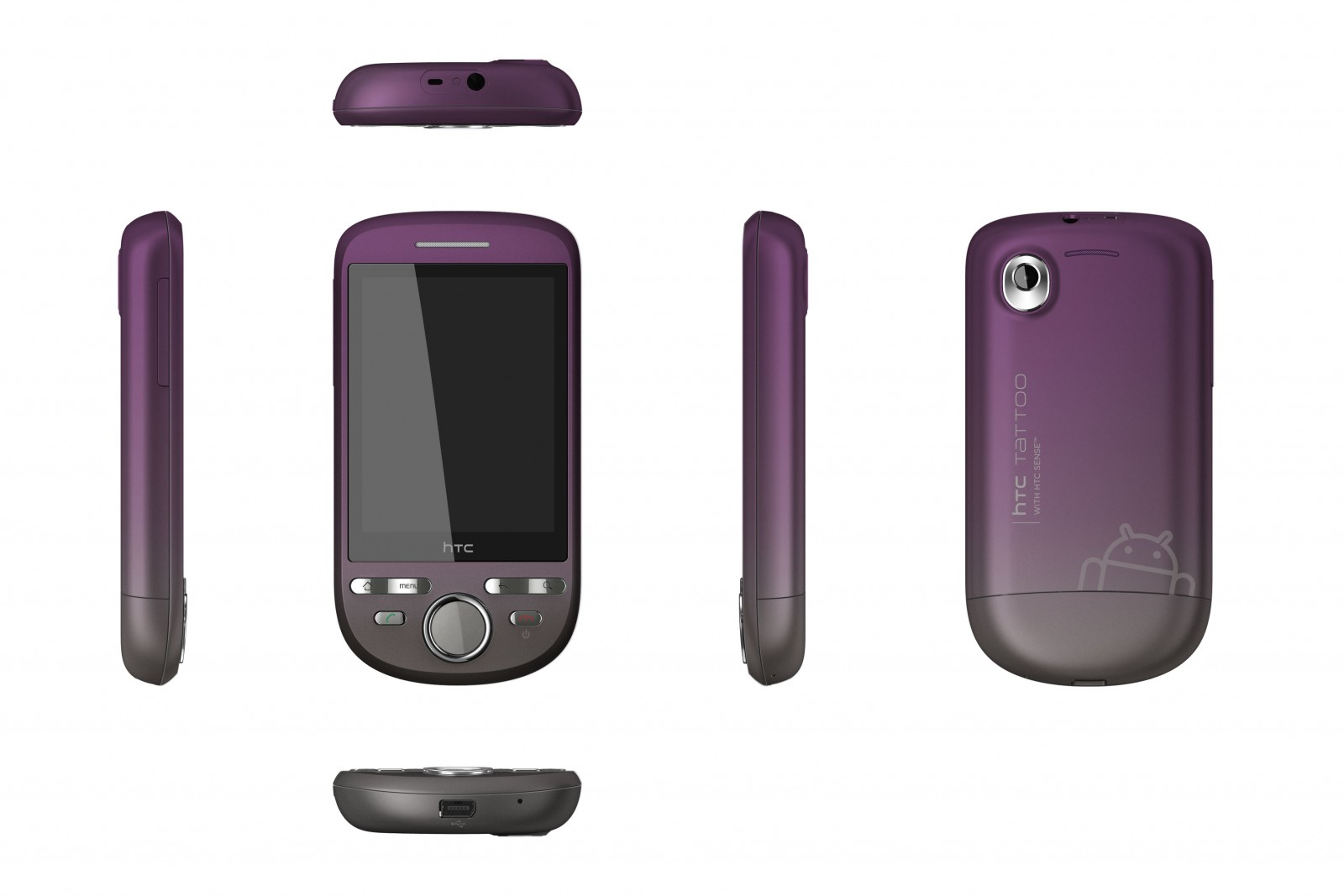 HTC Tattoo - Einsteiger-Smartphone mit Android und Sense - HTC Tattoo
