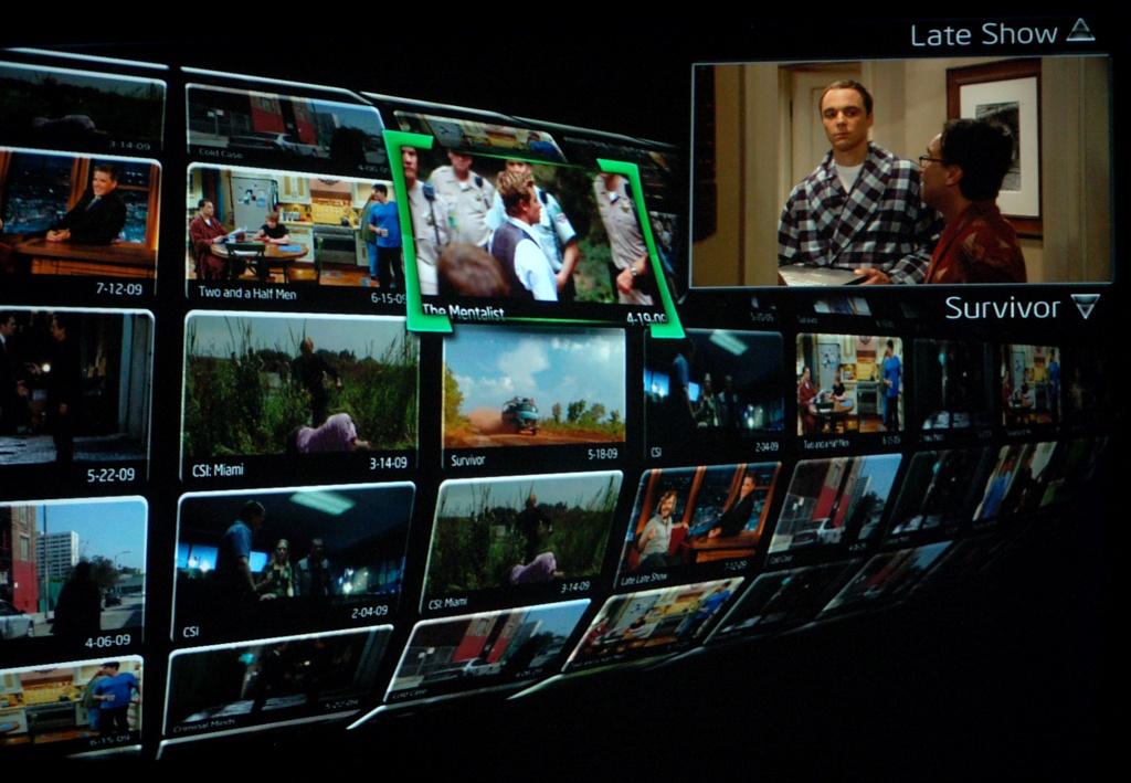 Commander La Forge erklärt die Fernsehzukunft - Intel Sodaville