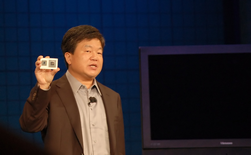 Commander La Forge erklärt die Fernsehzukunft - Intel Sodaville, Eric Kim