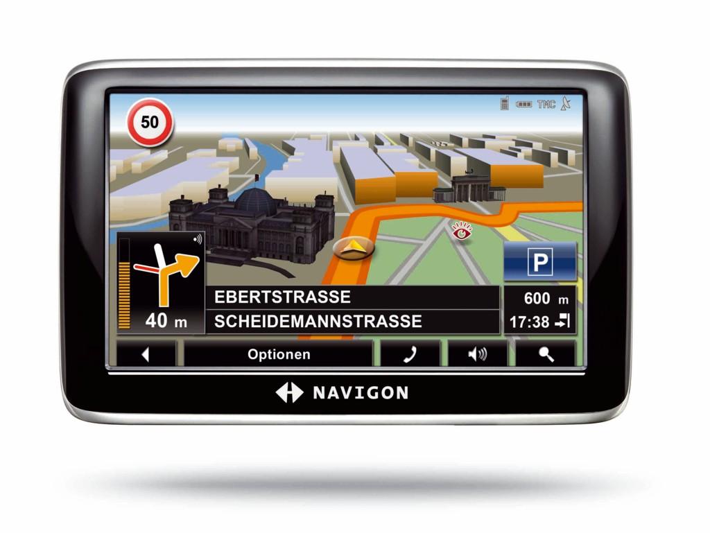 Navigon zeigt Navigationsgeräte mit mobilem Internetzugriff - Navigon 6310 - City View 3D