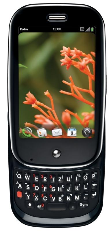 Palm Pre kommt am 13. Oktober für 481 Euro (Update 2) - Palm Pre mit QWERTZ-Tastatur