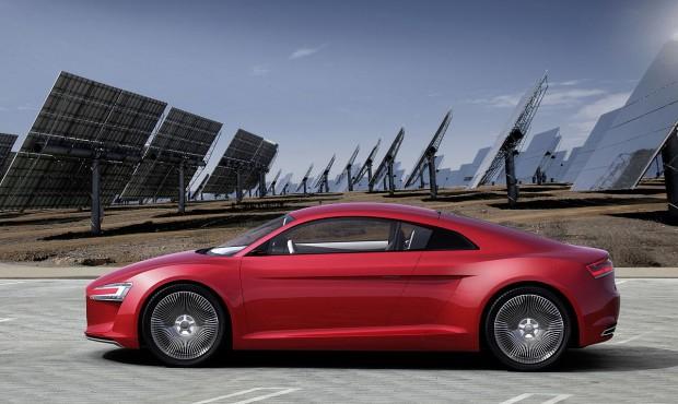 Audis Elektrosportwagen E-Tron (Foto: Audi)