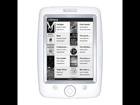 Cybook Opus - der neue E-Book-Reader von Bookeen (Foto: Bookeen)
