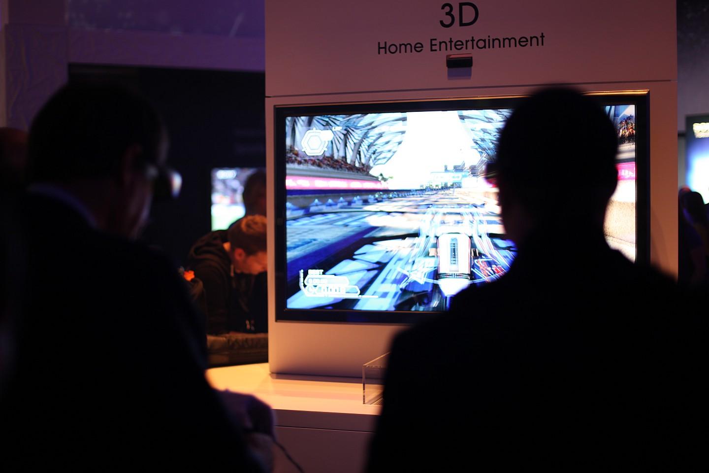 Von der Playstation 3 zur Playstation 3D - Wipeout HD Fury - auf der IFA mit Shutterbrille in 3D