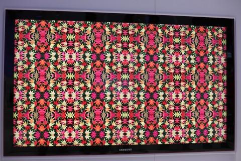 Samsungs Quad-HD-LED-LCD-Fernseher auf der IFA 2009