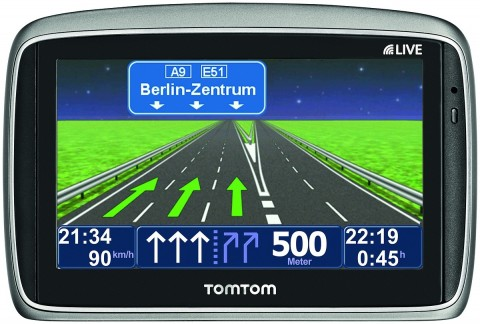 Tomtoms neue Navigationsgeräte Go 750 Live ... (Foto: Tomtom)