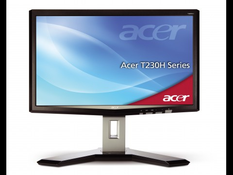 Acer T230H mit Multitouch