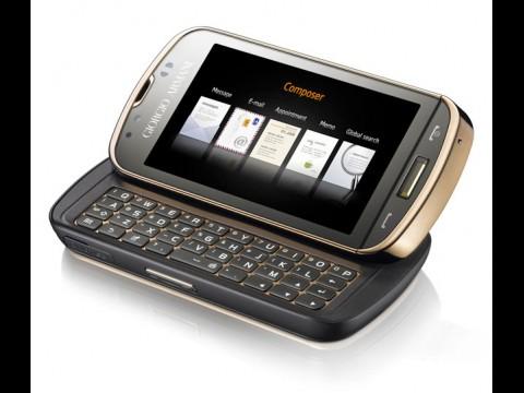 Smartphone von Giorgio Armani und Samsung