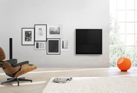 bang olufsen wandbild als fernseher. Black Bedroom Furniture Sets. Home Design Ideas