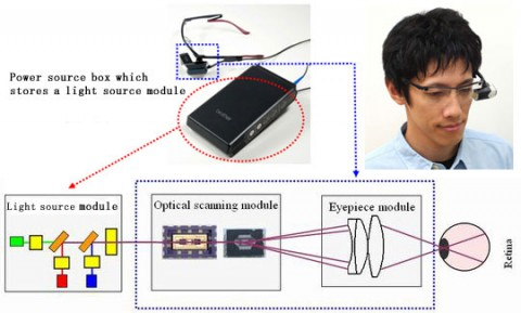 Brother Retinal Imaging Display