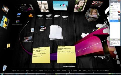 3D-Desktop Bumptop