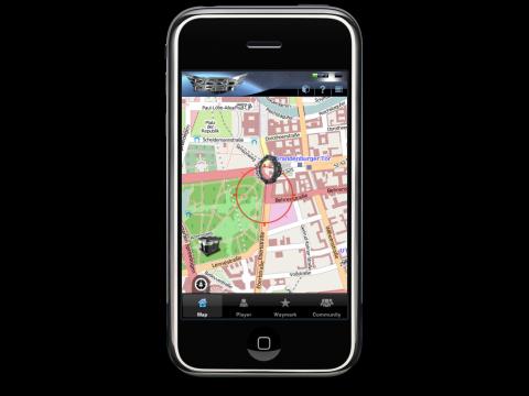 Erweiterung von Dark Orbit auf dem iPhone