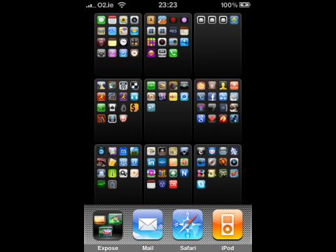 Work in Progress: Exposé für das iPhone in der Entwicklung