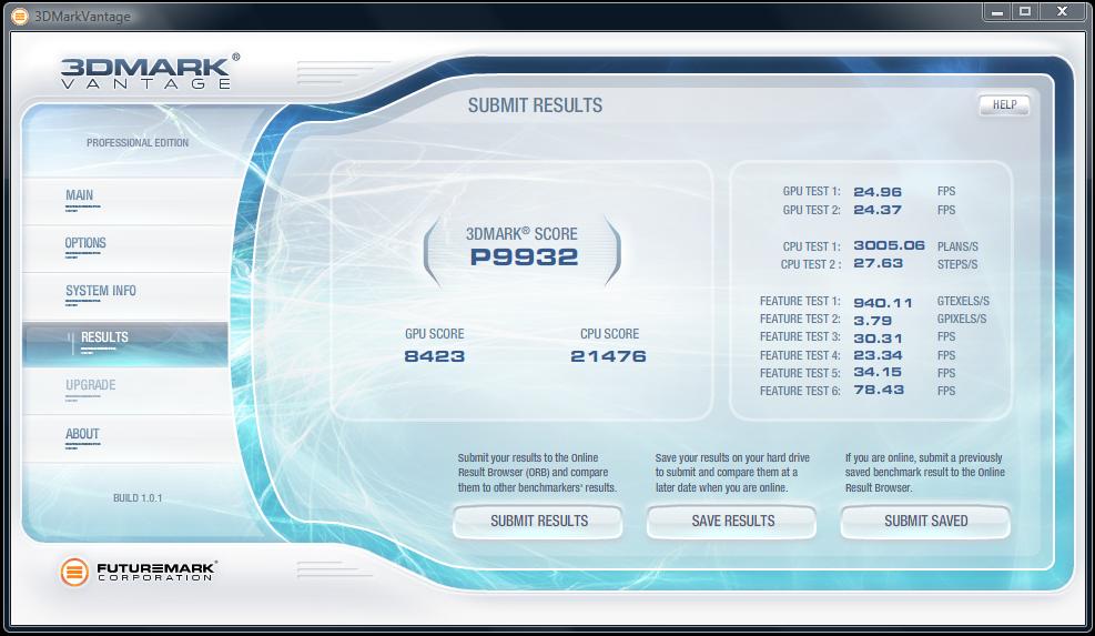 Test: Radeon HD 5770 bringt DirectX 11 in die Mittelklasse - 3D Mark Vantage auf einer Radeon 5770