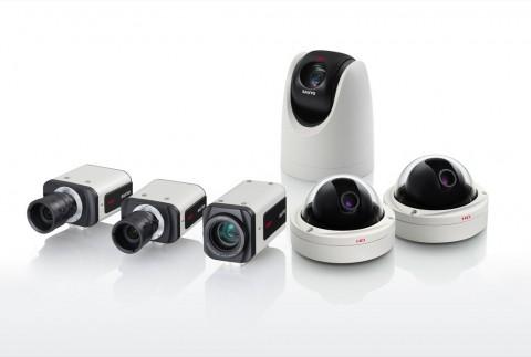 Sanyo-HD-Überwachungskameras