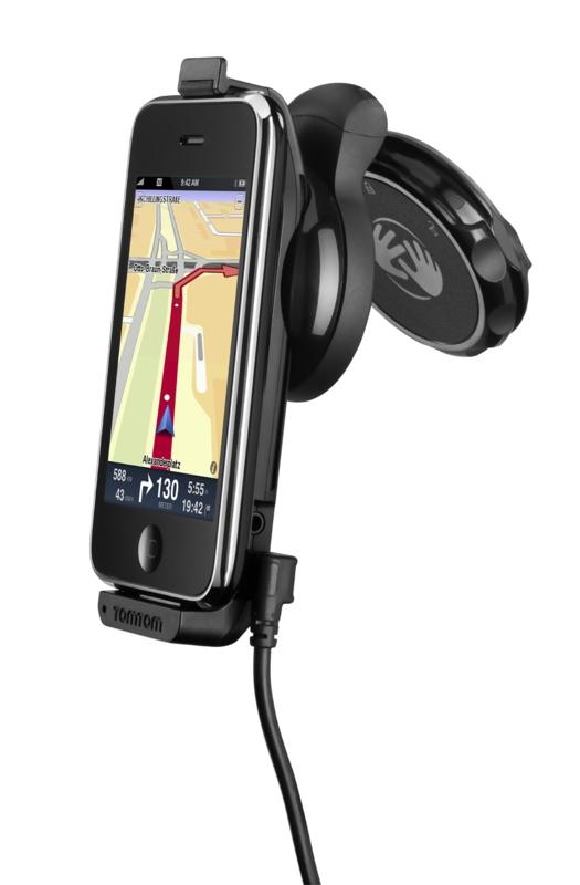 Tomtoms Car Kit für das iPhone kann bestellt werden -