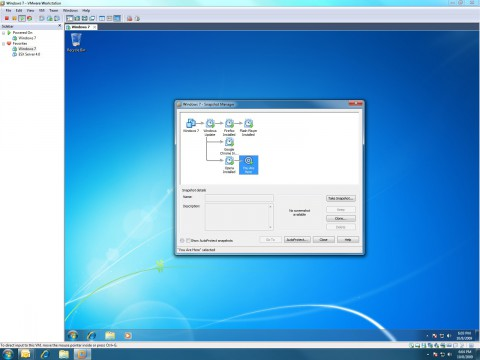 VMware Workstation 7 und Windows 7