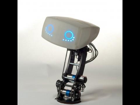 Der Roboter auf dem Armaturenbrett... (Foto: MIT)