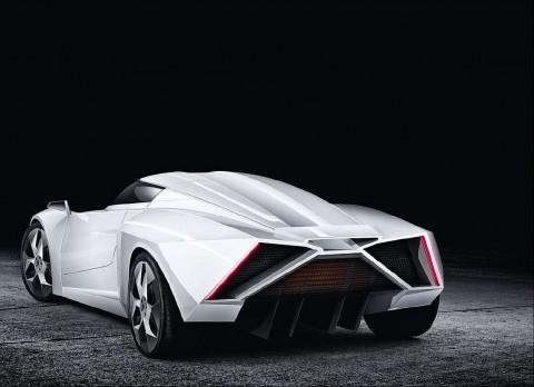 eWolf E2: Elektrischer Supersportwagen erinnert an Lamborghini-Design (Bild: eWolf)