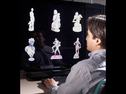 Projekt 3d coform kulturschätze als 3d objekte