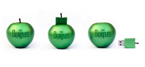 Beatles Stereo Box in Apfelform