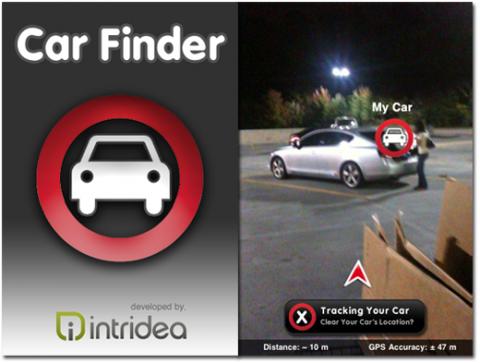 Car Finder für das iPhone 3GS