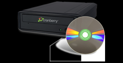 Cranberry Disc Writer und Diamondisc