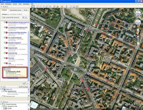 Google Earth mit Adsense