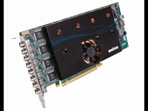 Matrox M9188 PCIe x16 - PCIe-Grafikkarte mit acht Mini-Displayports