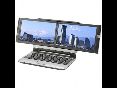 Dual-Screen-Notebook von Kojinsha