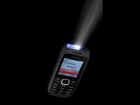 Nokia 1616 mit Taschenlampe