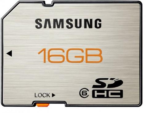 Samsung Premium Plus Memory Card