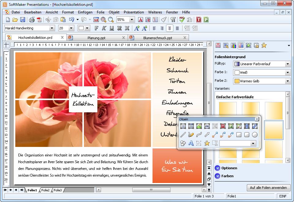 Softmaker Office 2010: Betaversion als Download - Presentations 2010